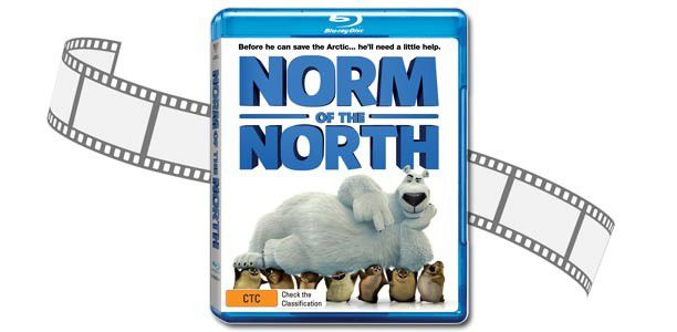 "Win 1 of 5 copies of ""Norm of the North"" on Blu-Ray"