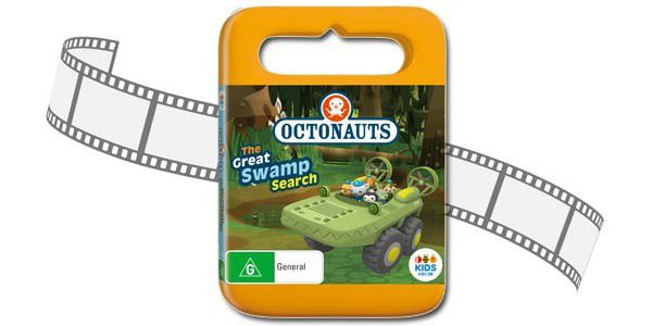 "Win 1 of 5 DVD copies of ""OCTONAUTS: GREAT SWAMPY SEARCH"""