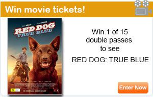 RED DOG: TRUE BLUE movie poster