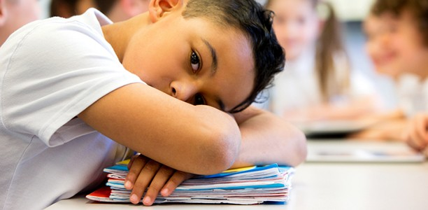 More children are starting school depressed and anxious