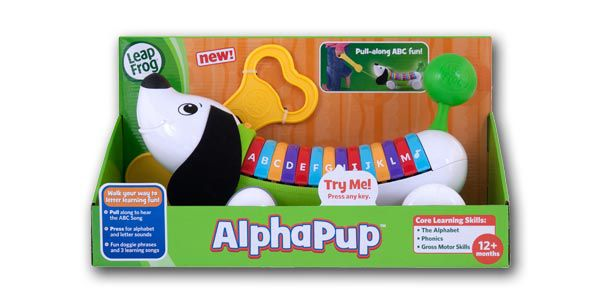 child with AlphaPup