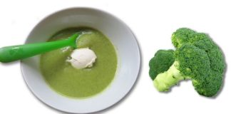 Broccoli puree
