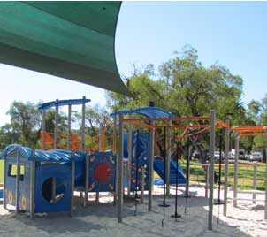 Smaller playground at Keane's Point Reserve