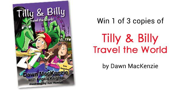 """Win a copy of the new junior fiction book """"Tilly & Billy Travel the World"""""""